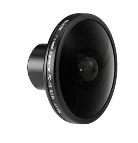 Nikon FC-E8 Fish-Eye Converter Lens for Nikon 4300, 4500 & 5000 Digital Cameras