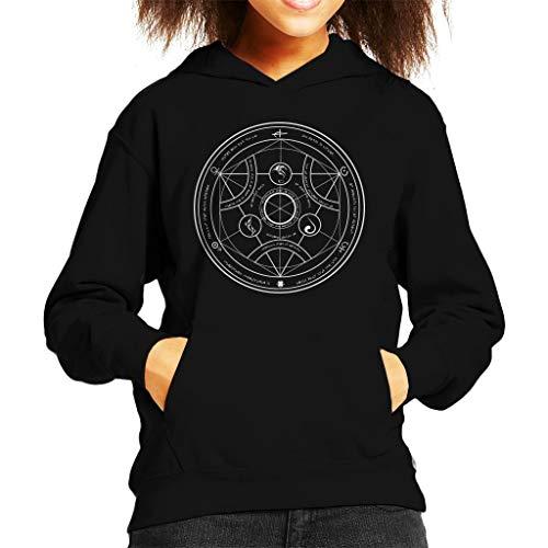 Valyrian Fire Alchemy White Game of Thrones Kid's Hooded Sweatshirt
