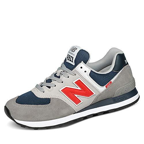 New Balance Herren ML574SO2_43 Sneakers, Grey, EU