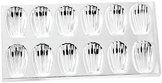 Norpro Tin Madeleine Sheet, 1-Pack, Silver