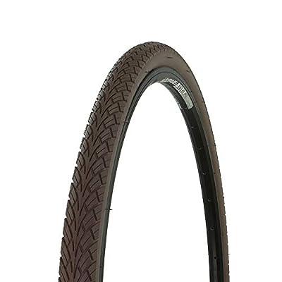 Bicycle Street Tire 700x38c G-5001, Road Bike, Fixie, Hybrid, (Brown)