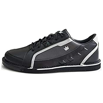 Brunswick Bowling Products Mens Punisher Bowling Shoes Right Hand- M US Black/Silver 11