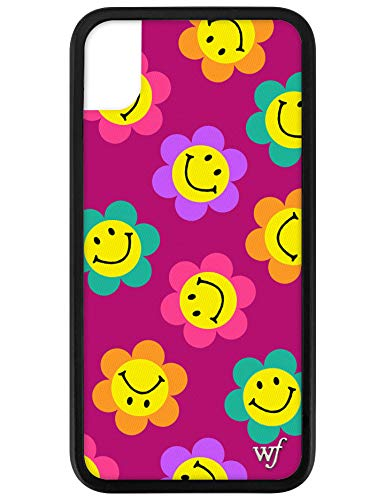 Wildflower Limited Edition Cases for iPhone XR (Magenta Smiles)