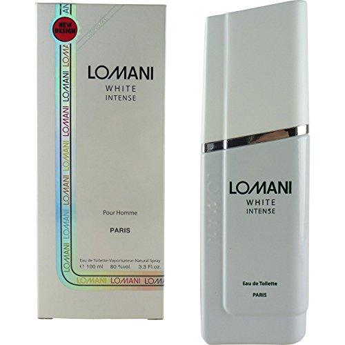 Lomani White Intense by Lomani Eau De Toilette Spray 3.3 oz for Men by Lomani
