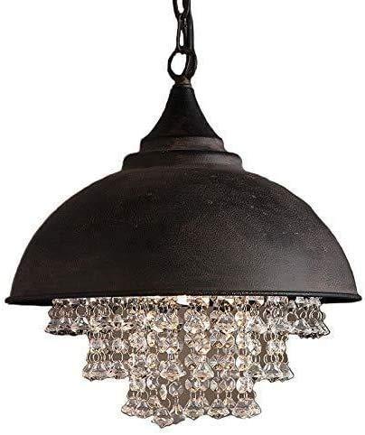 JIN Útil Lámpara de Estar de Araña de Cristal Industrial de la Lámpara Retro Americana No Hace la Decoración de Óxido de Candelabros