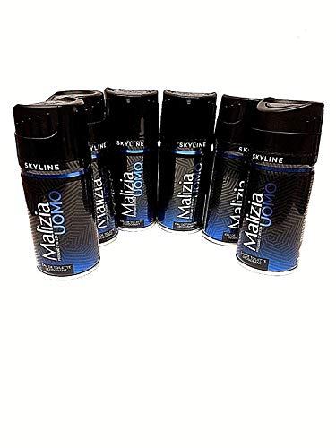 Malizia Uomo Skyline Deodorant Spray 6 x 150ml