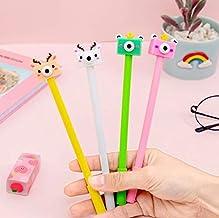 INFInxt 12 Pcs Cute Animal Design Camera Gel Pen Extra Fine Point 0.5 mm Tip for Kids/Birthday Return Gifts/School Station...