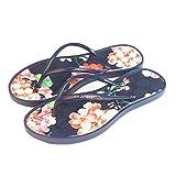 Mujeres Slippers Shoes,Moda Sandalias Femeninas,Zapatos De Agua De Verano Mujeres Flip Flops,Sildes Outside Beach Azul 36-38