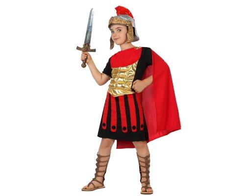 ATOSA 22253 Karnevalskostüm, Jungen, Rot/Schwarz, 140