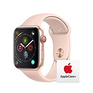 Apple Watch Series 4 (GPS + Cellular, 44mm) - Space Black Stainless Steel Case with Black Sport Band with AppleCare+ Bundle (B07S97M5JF) | Amazon price tracker / tracking, Amazon price history charts, Amazon price watches, Amazon price drop alerts