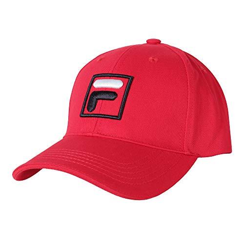 Fila Unisex Baseball Cap Mütze Sport Forze rot