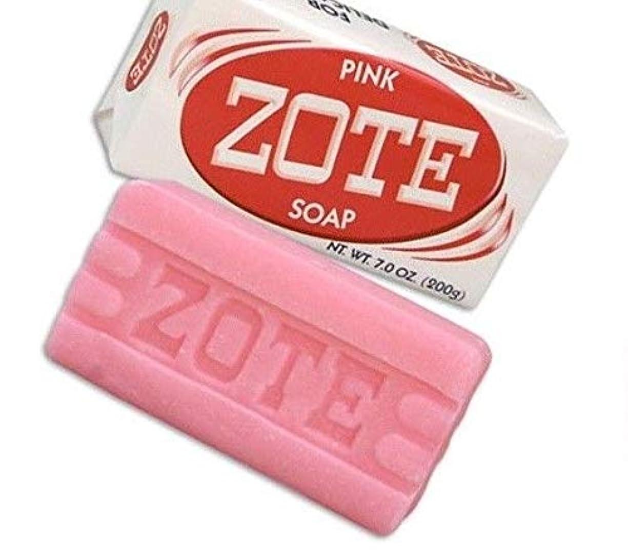 コンドーム晩ごはん回想Zote Laundry Soap Bar - Pink 7oz by Zote [並行輸入品]