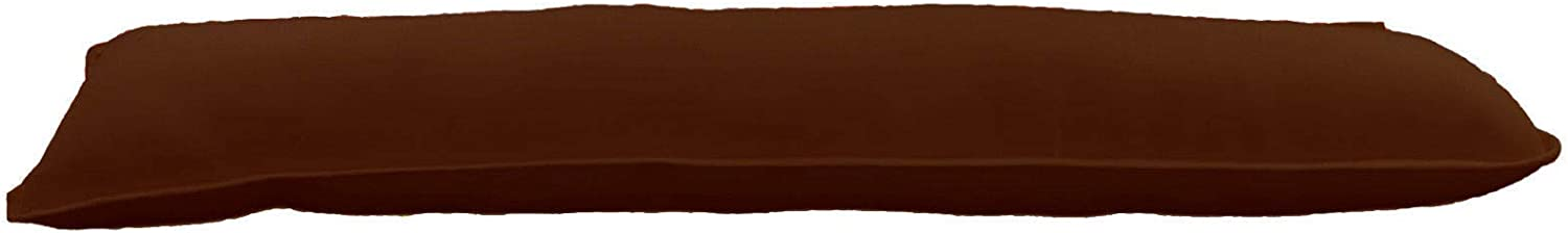 Brown TopStyleFashion4u New Giant Jumbo Draught Excluder Door Window Draft Winter Air Stopper 12 Colors
