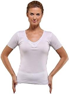 Ladies Cotton tshirt white undershirt for women