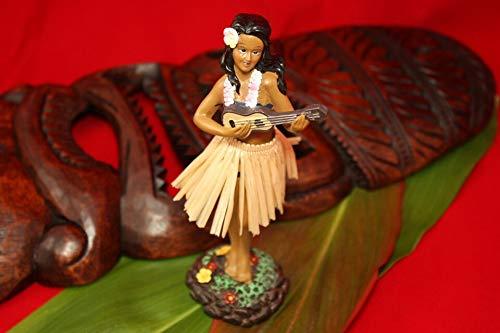 Tikimaster Leilani Dashboard Doll - Hula Girl with Ukulele | #KC40625