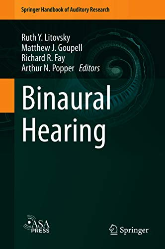 Binaural Hearing: With 93 Illustrations (Springer Handbook of Auditory Research 73) (English Edition)