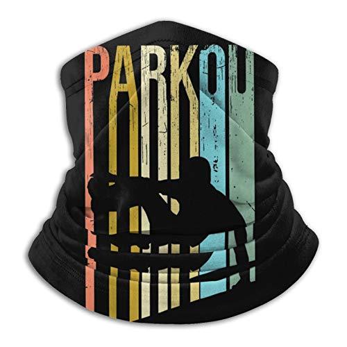 Polaina para el cuello Parkour al aire libre, transpirable, ideal para senderismo, correr, ciclismo, motocicleta, esquí, snowboard