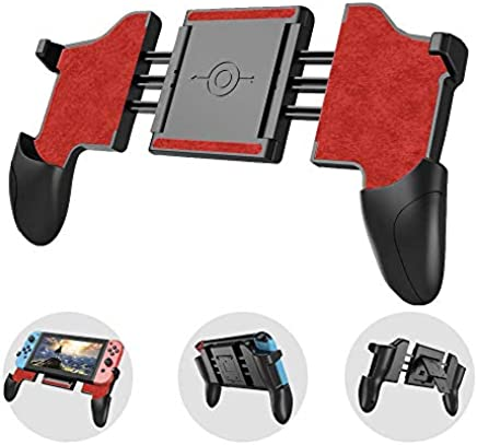 Acetech confort Nintendo switch Grip Stand case ,Handheld GamePad Mode enhance gaming experience with Game Card Slots Storage