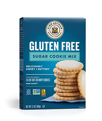 King Arthur, Gluten-Free Sugar Cookie Mix, Gluten-Free, Non-GMO Project Verified, Certified Kosher, 12 Ounces