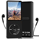 """MP3 Player 16GB, Aigital Portable Music Player with HiFi Lossless Sound Digital Player with 1.8"""" TFT Screen Built in Speaker, FM Radio, Recording Expandable up to 128GB with Headphone for Running"""