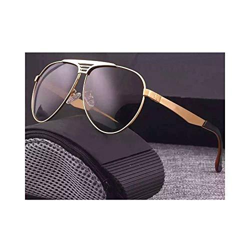 Dingziyue Gepolariseerde zonnebrillen voor dames/heren, voor het driven, reizen en fiashing goud/bruin