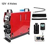 Réchauffeur diesel à air 12V / 24V 5KW, chauffage simple /à 4 trous avec moniteur...
