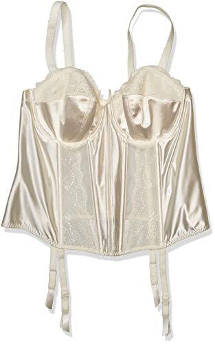 Elomi Women's Plus Size Maria Underwire Basque, Cream, 40DD