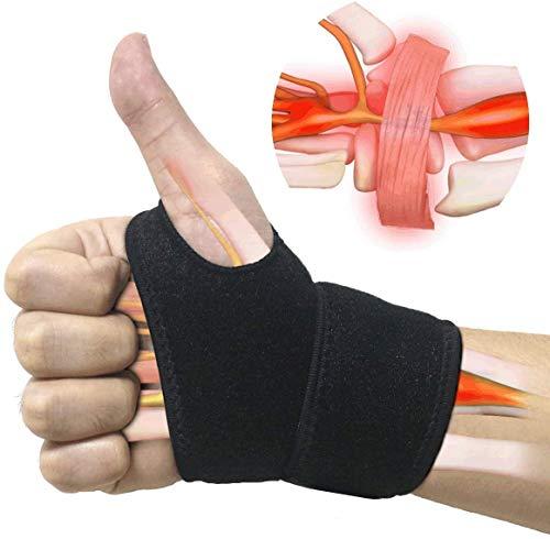 SUPRBIRD Handgelenk Bandagen, (2er-Set) Verstellbare Handgelenkstütze mit Klettverschluss, Daumenbandage, Atmungsaktivem Handgelenk-Wickelband Bietet Handunterstützung für Fitness, Gewichtheben