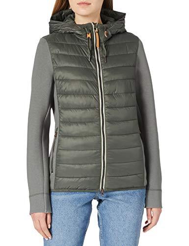 Camel Active Womenswear Damen 3308105E50 Jacke, Khaki, 40