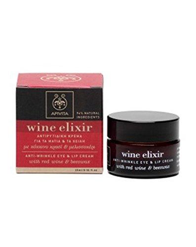 Apivita Wine Elixir Anti-wrinkle Eye and Lip Cream 15ml