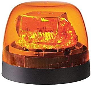 Federal Signal 272650-02 Amber Dome Class 2 SLR LED Beacon (Permanent/Pipe Mount)