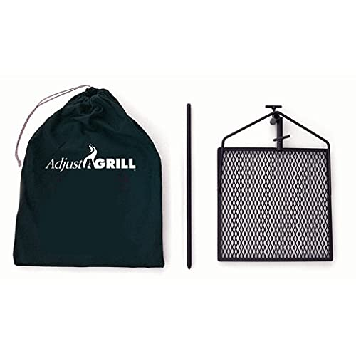Adjust-A-Grill Camping Grill - Makes...