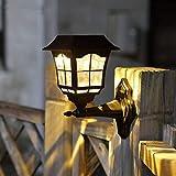 Best Solar Porch Light MAGGIFT