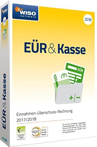 WISO EÜR & Kasse 2018: Für die Einnahmen-Überschuss-Rechnung 2017/2018 inkl. Gewerbe- und Umsatzsteuererklärung