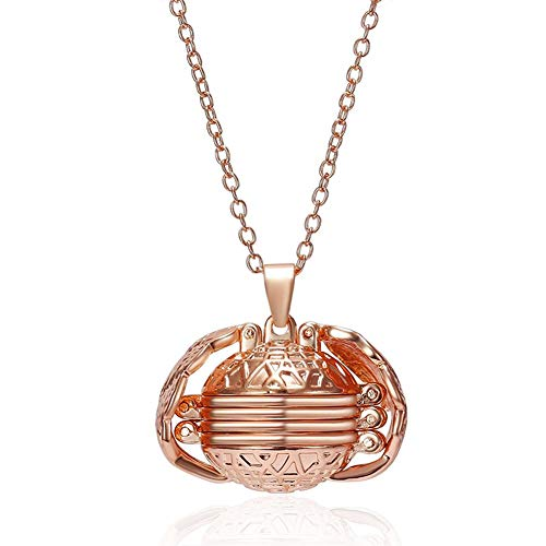 MSYOU Creative Alloy Necklace Personality Sphere Shaped Multi-Layer Photo Pendant Necklace Jewelry Accessories for Souvenir Gifts