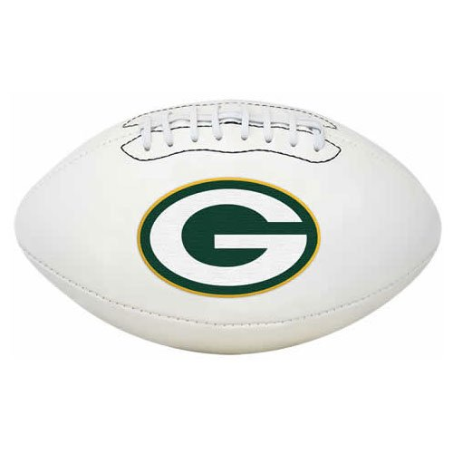 Rawlings NFL Signature Series Full Regulation Size Football, Green Bay Packers, volle Größe