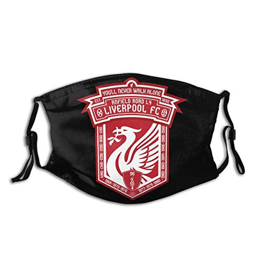 PQN Liverpool FC Logo Europ Champion Blanket Digital Printed Unisex Breathable Soft and Comfortable Breathable Wind and Washable Dustproof Face