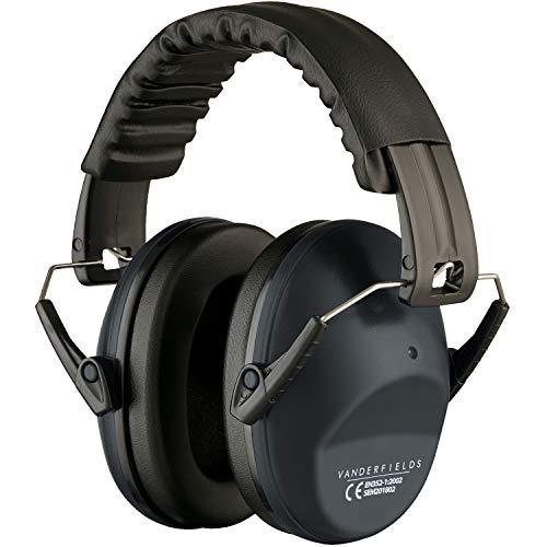 Vanderfields EF5005 Gehörschutz-Ohrenschützer, für Männer und Frauen, Erwachsenengröße., 8719558520886, Eisengrau
