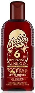 [Malibu ] マリブブロンズ日焼けオイルSp6 - Malibu Bronzing Tanning Oil Sp6 [並行輸入品]