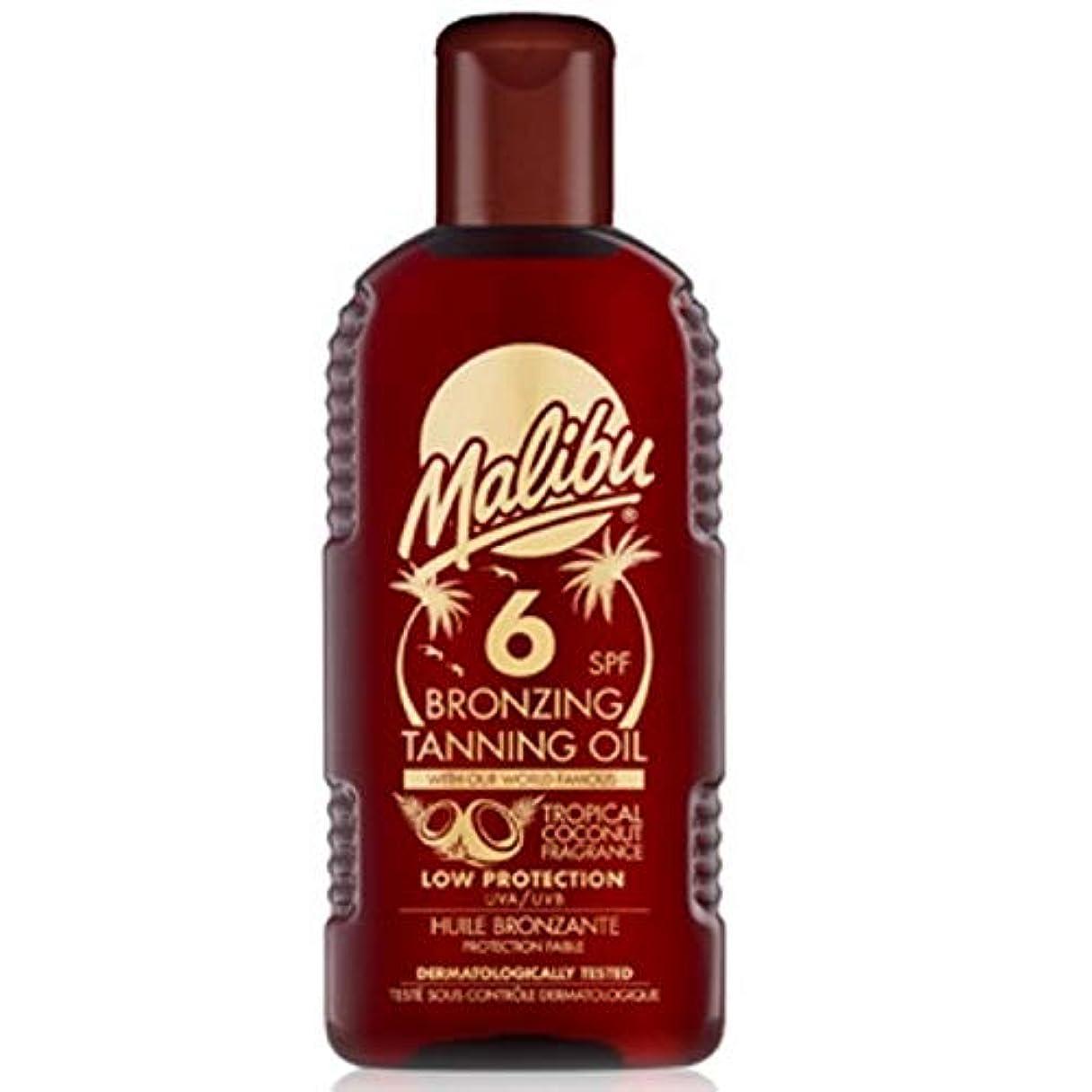 エージェント検索エンジン最適化結紮[Malibu ] マリブブロンズ日焼けオイルSp6 - Malibu Bronzing Tanning Oil Sp6 [並行輸入品]