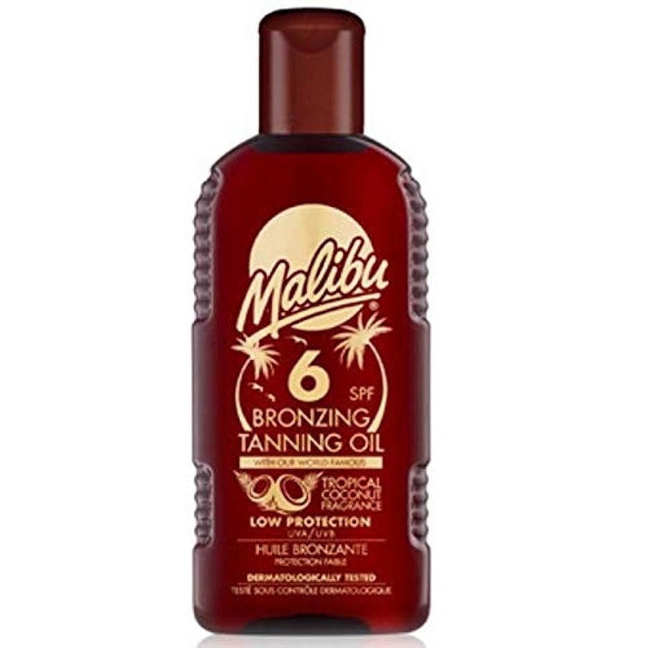 素人過去生じる[Malibu ] マリブブロンズ日焼けオイルSp6 - Malibu Bronzing Tanning Oil Sp6 [並行輸入品]