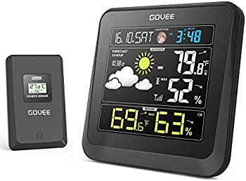 Govee Wireless Weather Station with Color LCD Display