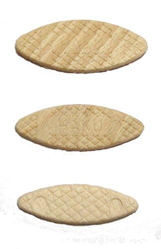 600 original HAKU® Flachdübel auch Lamello genannt Sortiment 200 je Größe