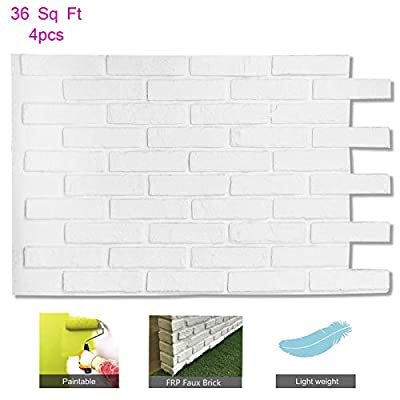 Brick Wall Panels Stone Tile, Lightweight Long Lasting ?FRP?Material for House Extrior and Interior Wall Use