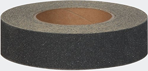 Jessup Safety Track 3100 Commercial Grade Non-Slip High Traction Safety Tape (80-Grit, Black, 1.5-Inch x 60-Foot Roll, Pack of 8)
