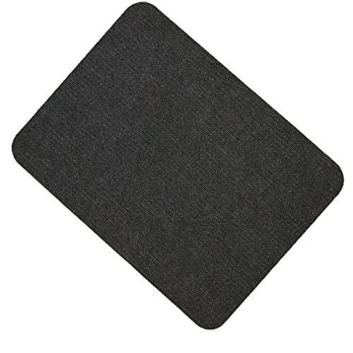 LLZX Selbstklebende rutschfeste PVC-Stuhlmatte und Bodenmatte Stumme Schallabsorptionsmatte Schwarz90 * 120 cm