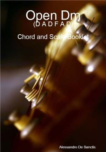 Open Dm (D A D F A D) - Chord and Scale Booklet (English Edition)