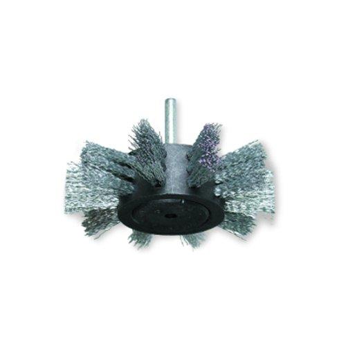 Osborn - Cepillos circulares segmentados - Vástago 6mm Acero Latonado (100x23x25x0,3)