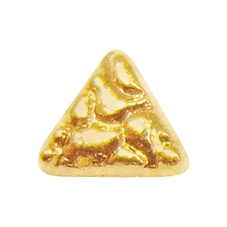 絡まる添付自動化ジェルネイル  サンシャインベビー アンティーク トライアングル(ゴールド) 10P