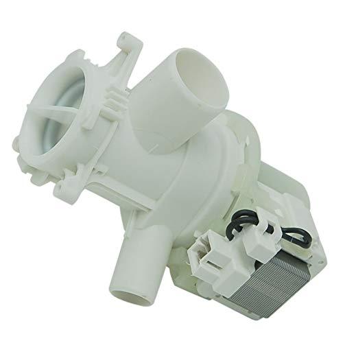 sparefixd Bomba de drenaje y filtro para lavadora Beko 2840940100
